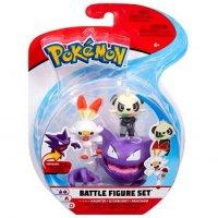 Alpollo & Hopplo & Pam-Pam 5 cm - Pokemon Battle Figuren von WCT