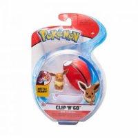 Evoli & Pokeball 5 cm - Pokemon Clip N Go Figuren von WCT