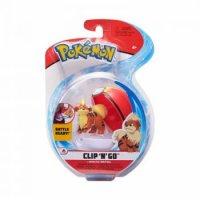 Fukano & Wiederball 5 cm - Pokemon Clip N Go Figuren von WCT