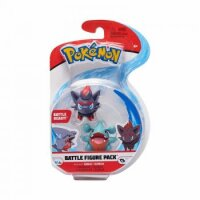 Kaumalat & Zorua 5 cm - Pokemon 2er Battle Figuren Pack von WCT