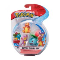 Bisaknosp & Glumanda & Griffel - Pokemon 3er Battle Figuren Set von WCT