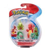 Glutexo & Bisasam & Larvitar - Pokemon 3er Battle Figuren Set von WCT