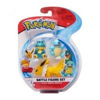 Blitza & Schiggy & Mampfaxo - Pokemon 3er Battle Figuren Set von WCT