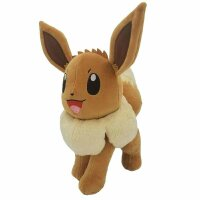 Evoli Plüschfigur 20 cm - Pokemon Kuscheltier von Wicked Cool Toys
