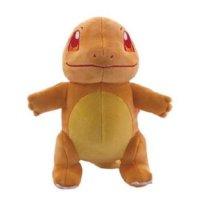 Glumanda (Starterpokemon-Set) Plüschfigur 20 cm - Pokemon Kuscheltier von Wicked Cool Toys