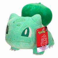 Bisasam (Starterpokemon-Set) Plüschfigur 20 cm - Pokemon Kuscheltier von Wicked Cool Toys