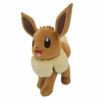Evoli im Kasten Plüschfigur 25 cm - Pokemon Kuscheltier von Wicked Cool Toys
