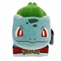 Bisasam im Kasten Plüschfigur 25 cm - Pokemon Kuscheltier von Wicked Cool Toys