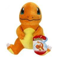 Glumanda (sitzend) Plüschfigur 20 cm - Pokemon Kuscheltier von Wicked Cool Toys