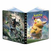 Pokemon Farbenschock Sammelalbum Pikachu VMAX & Zarude (Ultra Pro 4-Pocket Album)