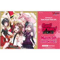 Cardfight!! Vanguard - BanG Dream! FILM LIVE Title Booster Display (12 Packs) VGE-V-TB01-EN