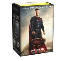 Justice League Matte Art Sleeves - Superman (100 Kartenhüllen)