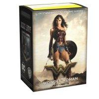 Justice League Matte Art Sleeves - Wonder Woman (100 Kartenhüllen)