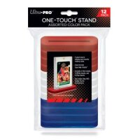 Ultra Pro 35pt One-Touch Stand Assorted Color - bunte stabile Kartenhalter (12 Stück)