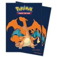 Pokemon Sleeves Glurak (65 Kartenhüllen)