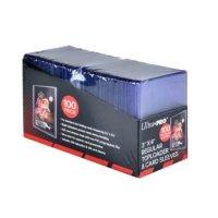 """Ultra Pro Regular Toploader 3"""" x 4"""" 35PT (100 dicke Schutzhüllen) & 100 Card Sleeves"""
