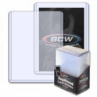 BCW Standard Toploader 3x4 Zoll (extrem dicke Schutzhüllen 108pt) - 10 Stück