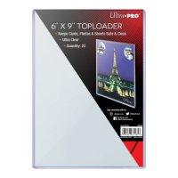 """Ultra Pro Toploader 6"""" x 9"""" (25 dicke Schutzhüllen) für Übergroße Karten"""