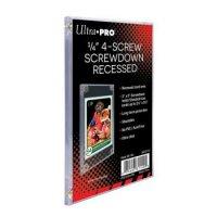 Ultra Pro 1/4 4-Screw Screwdown Recessed (Karten Halter)