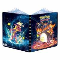 Pokemon Sammelalbum Glänzendes Schicksal - Glurak & Riffex (Ultra Pro 9-Pocket Album)