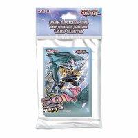 Yugioh Sleeves Dunkles Magier Mädchen - Die Drachenritterin (Dark Magician Girl - 50 Kartenhüllen)