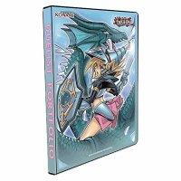 Yugioh 9-Pocket Portfolio Dunkles Magier Mädchen - Die Drachenritterin (Dark Magician Girl - 9-Pocket Album)