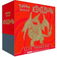 Pokemon Evolutions Charizard Elite Trainer Box - Englisch
