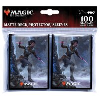 Ultra Pro Magic Sleeves - Kaldheim, Kaya the Inexorable (100 Kartenhüllen)