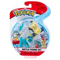 Aquana, Mimigma & Kaumalat - Pokemon Battle Figuren Dreierpack von BOTI