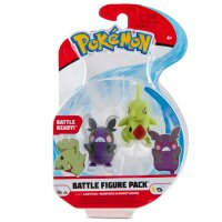 Larvitar, Morpeko (Kohldampfmuster) Pokemon Battleset Figure 4 cm von BOTI