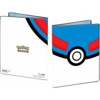 Pokemon Sammelalbum Superball (Ultra Pro 4-Pocket Album)