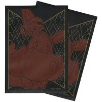 Pokemon Sleeves VMAX Evoli, Glänzendes Schicksal (65 matte Kartenhüllen)