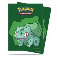 Pokemon Sleeves Bisasam, (65 Kartenhüllen)