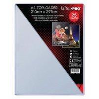 Ultra Pro A4 Toploader 210mm x 297mm (25 dicke Schutzhüllen)
