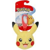 Pikachu Clip-on Plüschfigur 10 cm - Pokemon Kuscheltier von Wicked Cool Toys