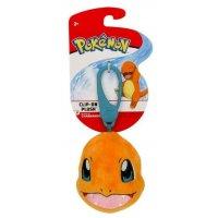 Glumanda Clip-on Plüschfigur 6 cm - Pokemon Kuscheltier von Wicked Cool Toys