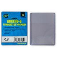 Arkero-G Standard Toploader (extrem dicke Schutzhüllen) - 25 Stück
