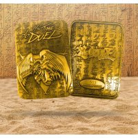 Yu-Gi-Oh! 24 Karat Gold plattiert Metallplatte The Winged Dragon of Rah *LIMITIERTE EDITION*