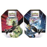 Alle 2 Pokemon Sommer Tins 2021:  Impoleon-V und Despotar-V