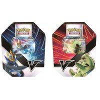 Alle 2 Pokemon Summer Tins 2021: Empleon-V und Tyranitar-V