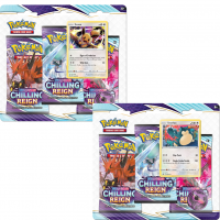 Sword & Shield Chilling Reign 3-Pack Blister (englisch)