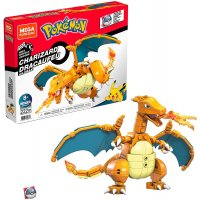 Pokémon Glurak - Bauset von Mega Construx (222 Teile)