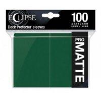Ultra Pro Eclipse Sleeves - Grün Matt (100 Kartenhüllen)