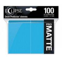 Ultra Pro Eclipse Sleeves - Himmelblau Matt (100 Kartenhüllen)