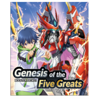 Cardfight!! Vanguard overDress - Booster Display: Genesis of the Five Greats