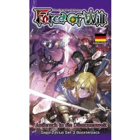 Force of Will Die Drachengott-Saga 03 Booster VORVERKAUF